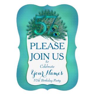57th Birthday Invitations Personalized Invitations