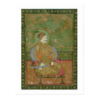 58.20/25A Portrait of Sultan Abdullah Qutb Shah se Postcard