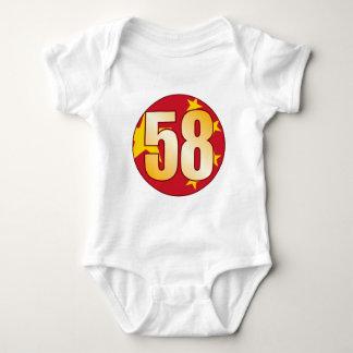 58 CHINA Gold Baby Bodysuit