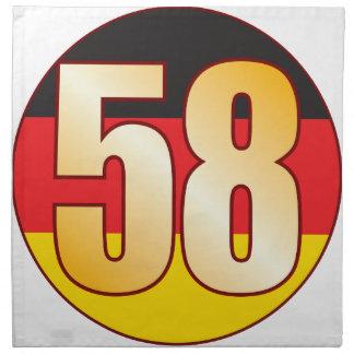 58 GERMANY Gold Napkin