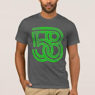 58 Interlocked (neon green distressed) T-Shirt