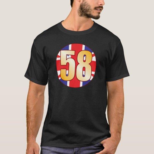 58 UK Gold T-Shirt