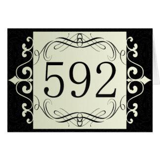 592 Area Code Cards