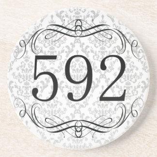 592 Area Code Coasters