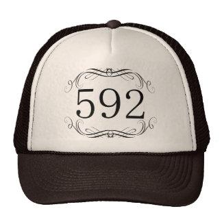 592 Area Code Mesh Hats