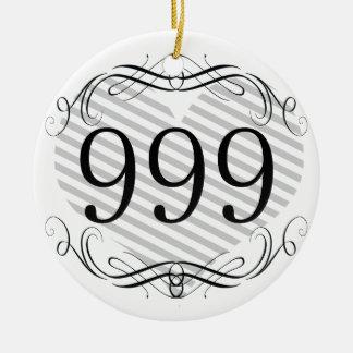 592 Area Code Ornaments