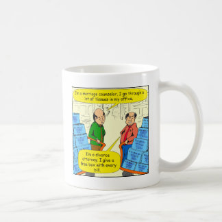 592 give tissue with every bill cartoon coffee mugs
