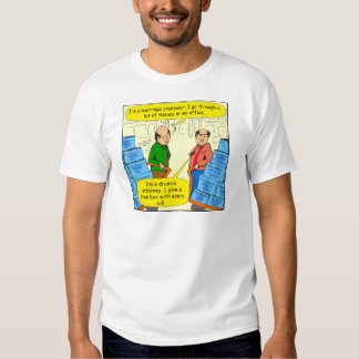 592 give tissue with every bill cartoon t-shirt