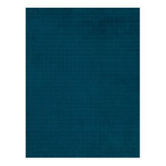 592_navy-grid-paper NAVY BLUE GRID PAPER TEXTURE B Postcard