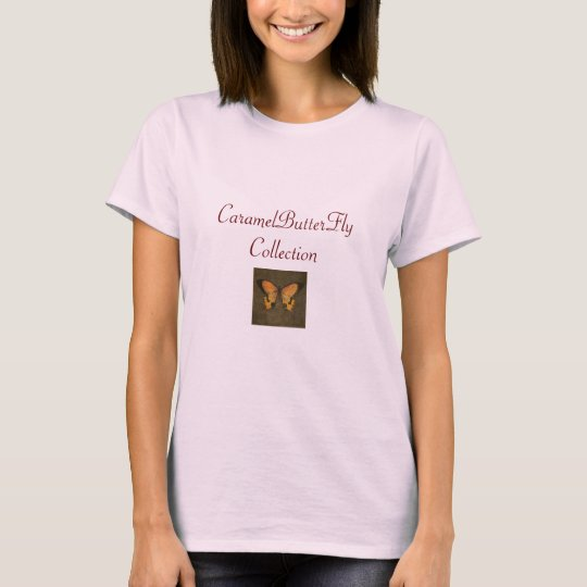 5956_MochaButterfly, CaramelButterFlyCollection T-Shirt