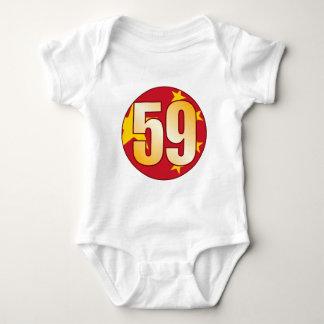 59 CHINA Gold Baby Bodysuit