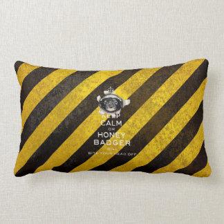 [59] Keep Calm or Honey Badger… Cushions