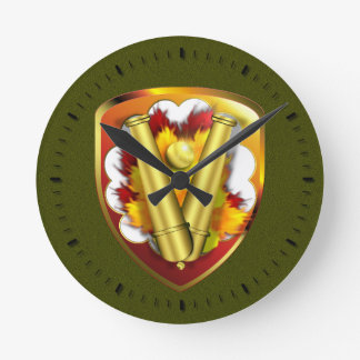 59th Ordnance Brigade - New Style Round Clock