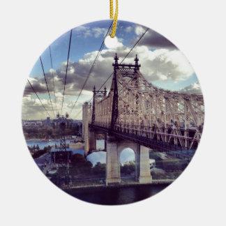 59th Street Bridge Christmas Ornament