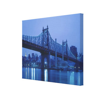 59th Street Bridge, New York, USA Canvas Print
