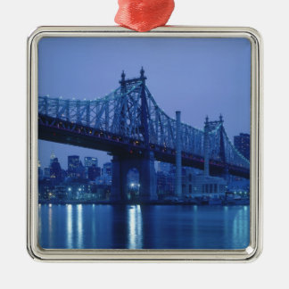 59th Street Bridge, New York, USA Christmas Ornament
