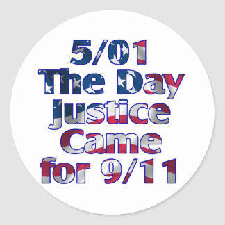 5/1 Day Justice Came for 9/11 Sticker