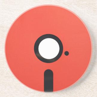 5.25 Floppy Disc Coaster