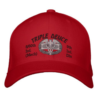 5/60th Inf. 9th Inf Div. CMB Embroidered Hat