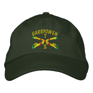 5/7th Cavalry Crossed Sabers Embroidered Hat Embroidered Hat