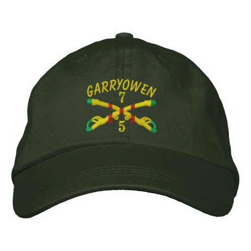 5/7th Cavalry Crossed Sabres Embroidered Hat