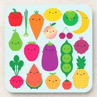 5 A Day Fruit & Vegetables Drink Coaster