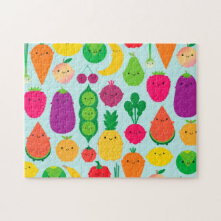 5 A Day Fruit & Vegetables Jigsaw Puzzle