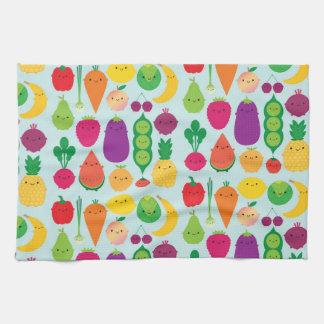 5 A Day Fruit & Vegetables Tea Towel