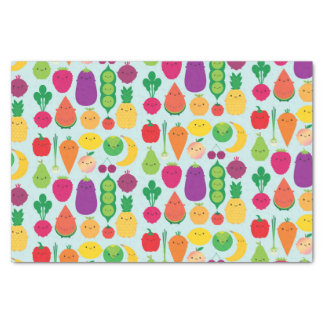 5 A Day Fruit & Vegetables Tissue Paper