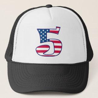 5 Age USA Trucker Hat