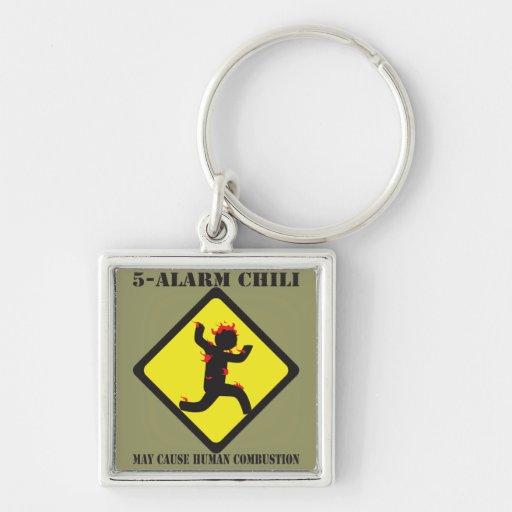 5 Alarm Chili Keychain