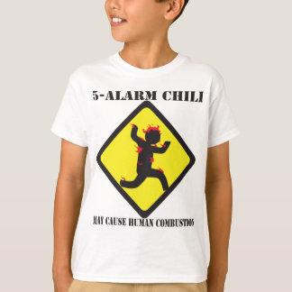 5 Alarm Chili Kid's Light T-Shirt