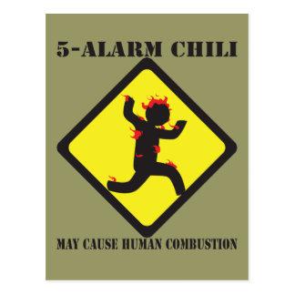 5 Alarm Chili Postcards