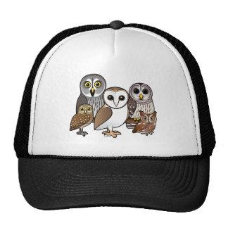 5 Birdorable Owls Trucker Hats