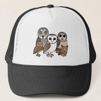 5 Birdorable Owls Trucker Hat