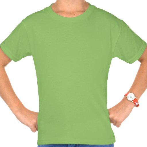 5 Birthday Girl Shamrock Number Custom Name V07G T Shirt