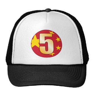 5 CHINA Gold Cap