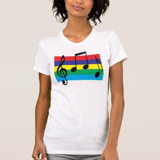 5 Color Musical Tee Shirt
