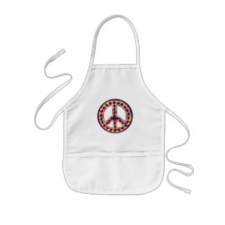 5-color peace apron