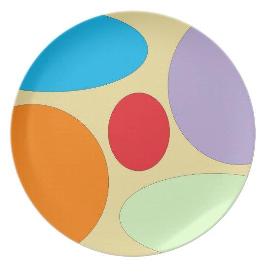 5 Colours Plate