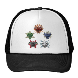 5 Dragons Mesh Hat