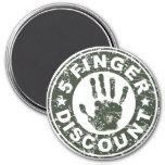 5 Finger Discount Logo - Green Tea
