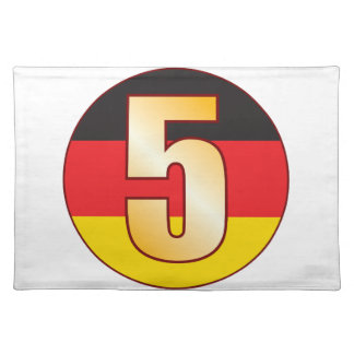 5 GERMANY Gold Placemat