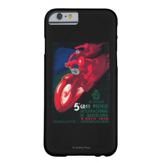 5 Gran Premio Internat'l Motorcycle Poster Barely There iPhone 6 Case