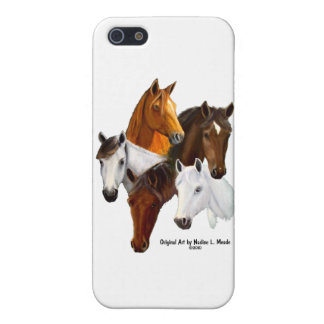 5 Horse Heads iPhone 5 Cover