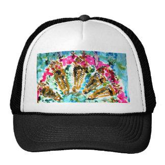 5 ice cream mesh hats