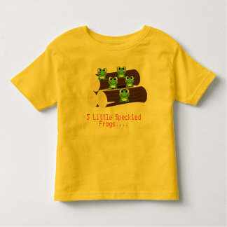 5 Little Frogs T-Shirt