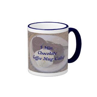 5 Min.Chocolate Coffee Mug Cake Recipe