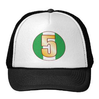 5 NIGERIA Gold Cap