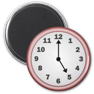 5 o clock magnet
